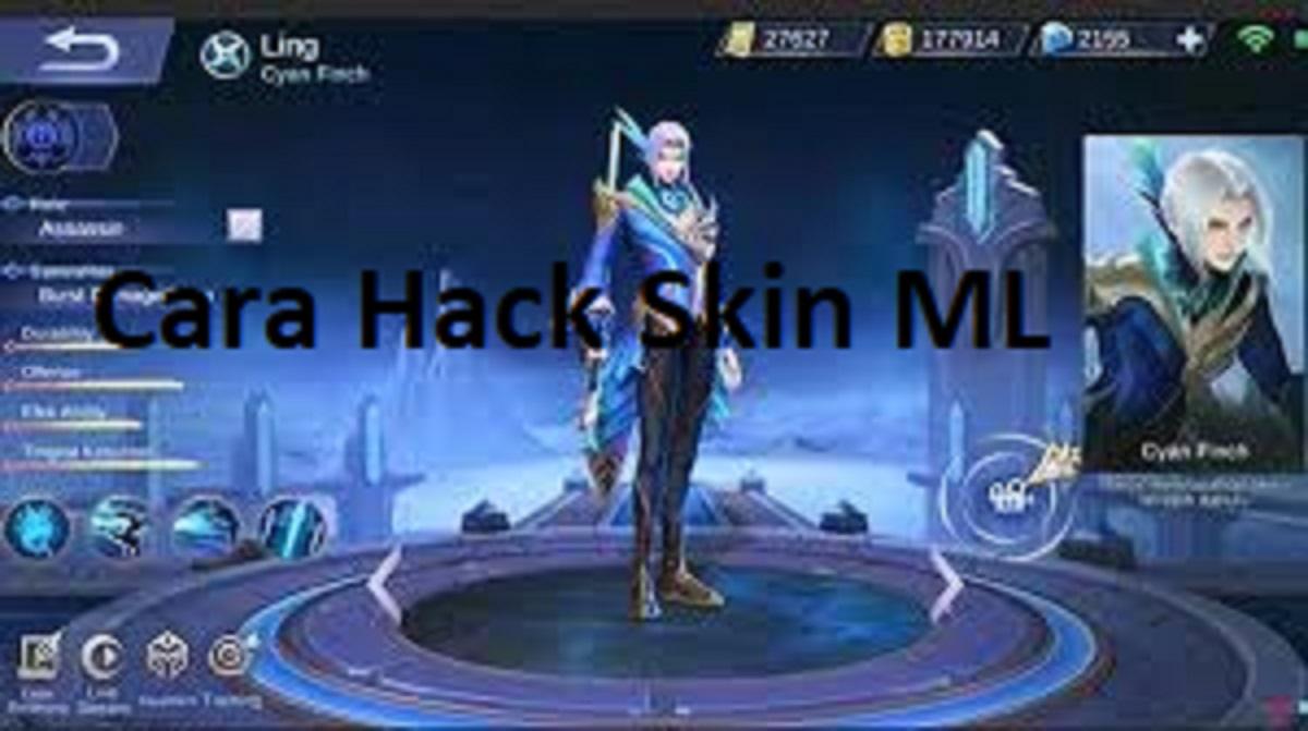 Cara Hack Skin ML