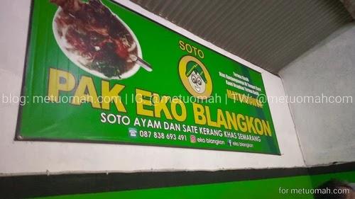 soto ayam dan daging sapi pak eko blangkon.