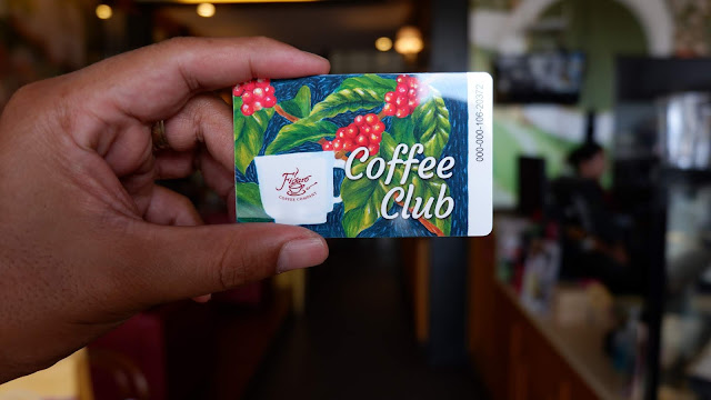 figaro coffee club card