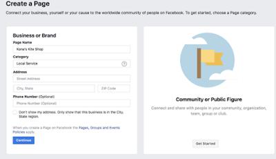 عمل صفحة متجر على فيسبوك بخطوات بسيطة