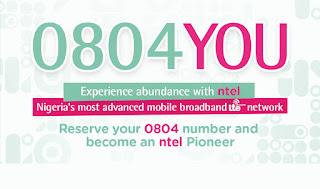 Reserve Ntel number
