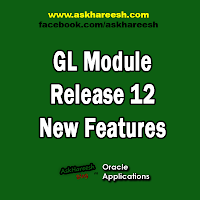 GL Module 12 Release New Features, www.askhareesh.com