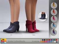 Ankle Cuffed Boots