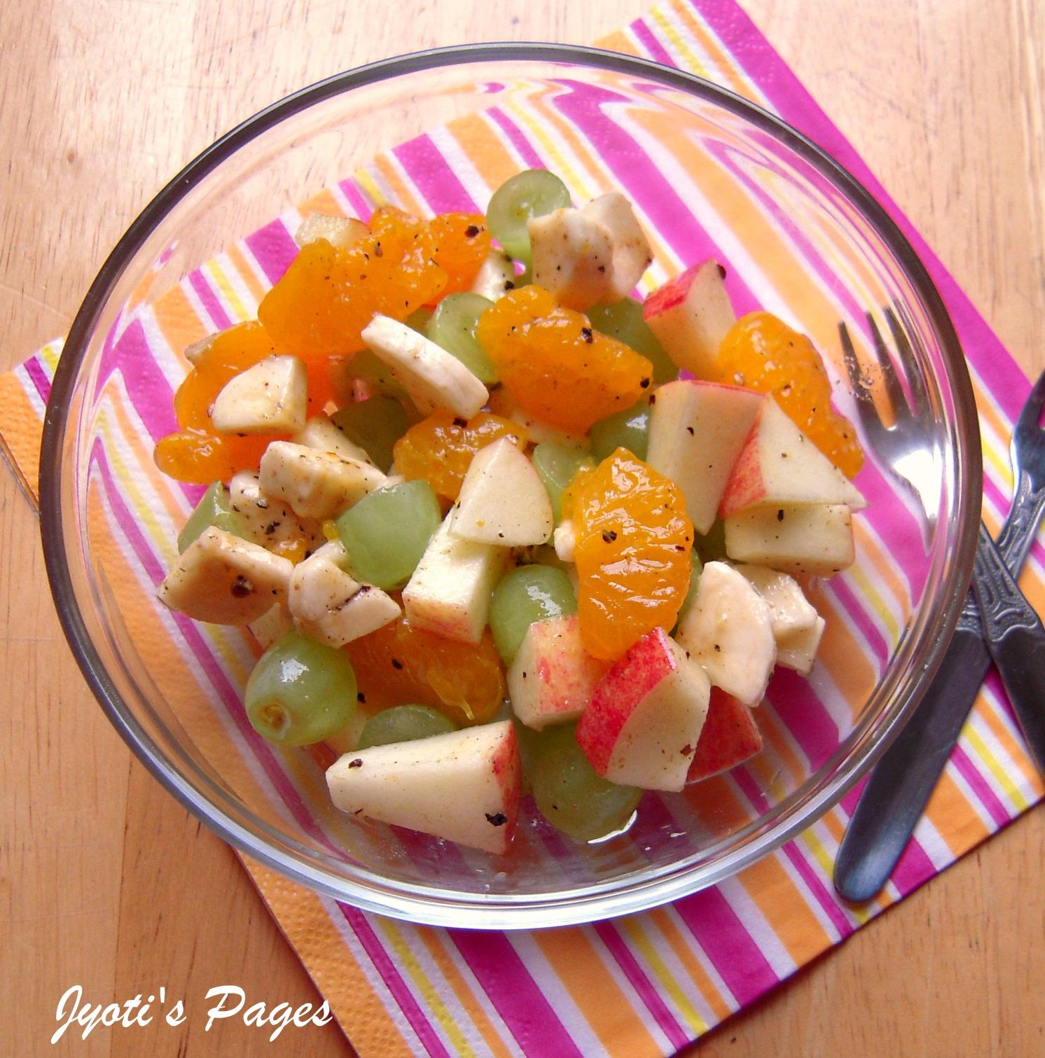 Jyoti's Pages: Fruit Salad