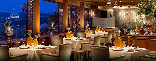 Restaurante La Pergola Ristorante em Roma