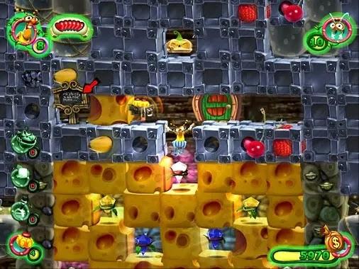 تحميل لعبة اكل الجبنة وجامع النحل للكمبيوتر