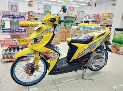 Modifikasi ThaiLook Mio Soul