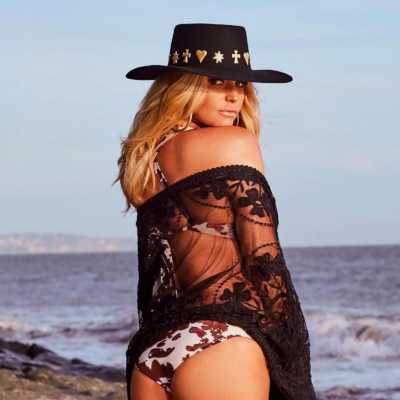 Jessica Simpson Clicked in Bikini at a Beach – Instagram Snaps 27 Jun -2020
