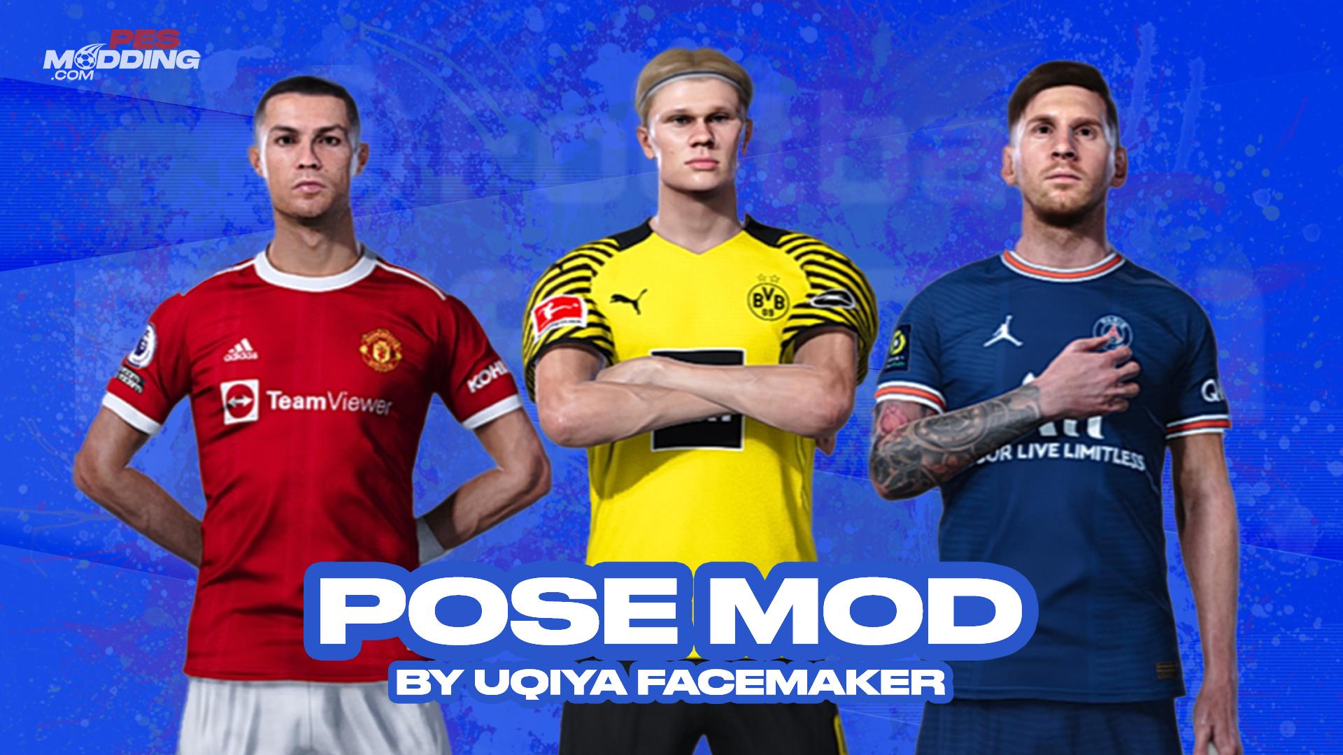 PES 2021 Pose MOD by UQIYA
