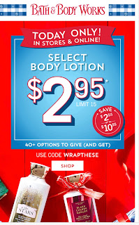 Bath & Body Works | Today's Email - November 16, 2019