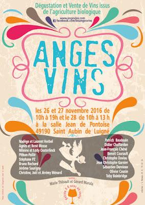 Affiche du Salon Les Anges Vins