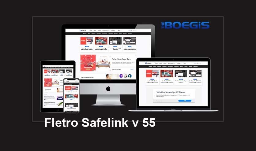 Update Fletro Pro v.5.5 Safelink Template Blogger Responsive
