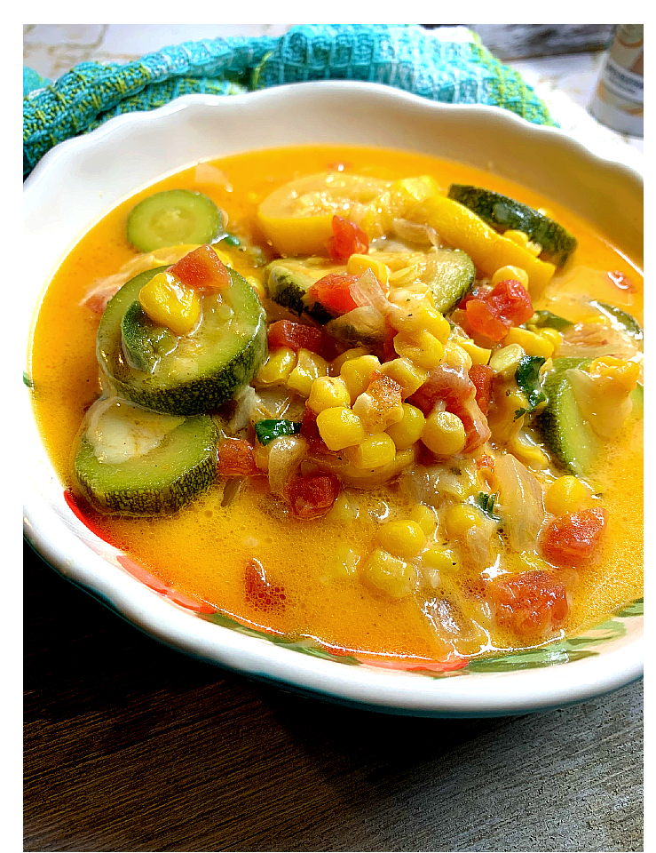 Calabacitas - Zucchini with Corn