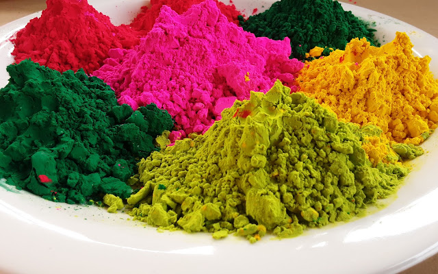 Gulal or Abhira Colors for Holi