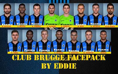 PES 2017 Facepack Club Brugge KV by Eddie Facemaker