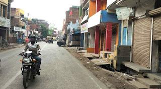 #JaunpurLive : नगर में पूर्ण वीकेंड लॉकडाउन रहा सफल