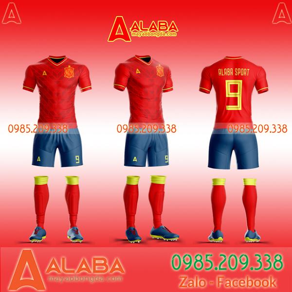 Áo Tây Ban Nha đỏ đẹp