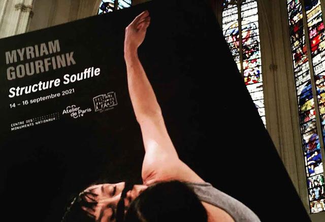 La dernière création de Myrial Gourfink à la Sainte Chapelle du Château de Vincennes