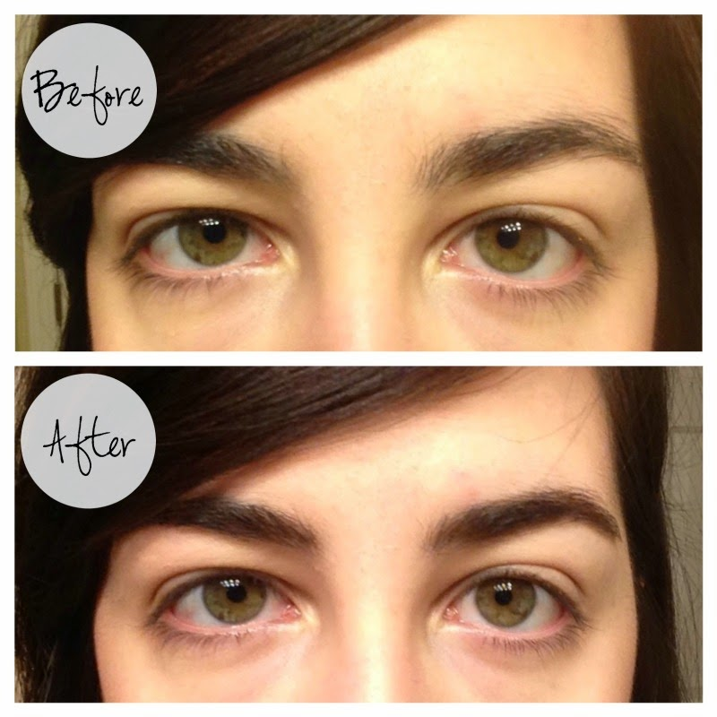 Paula Dorf 2+1 brow set with before & after pics!