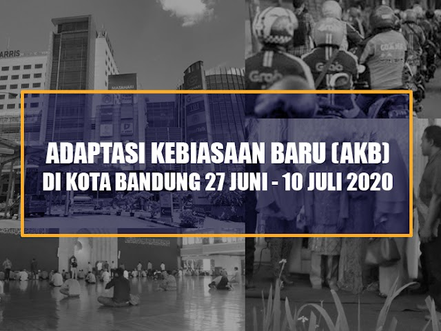 Ini Aturan Adaptasi Kebiasaan Baru di Kota Bandung Berlaku 27 Juni - 10 Juli 2020