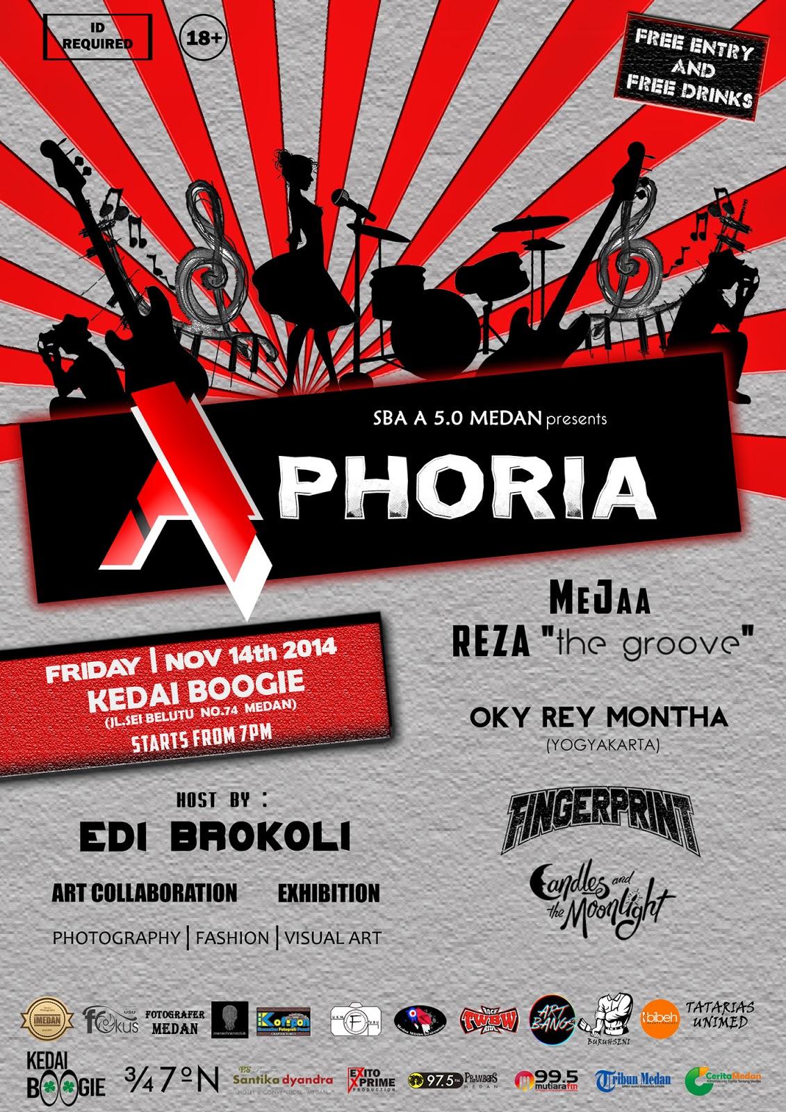 Aphoria : Perayaan dan Apresiasi Seni di Medan