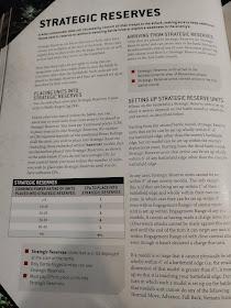 Reservas Estratégicas 9a edición 40k