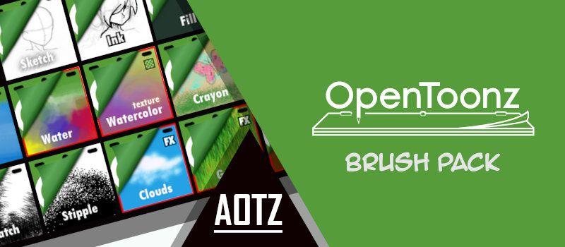 Aotz - Opentoonz brush pack