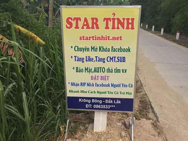 Share psd biển quảng cáo dịch vụ facebook cực chất