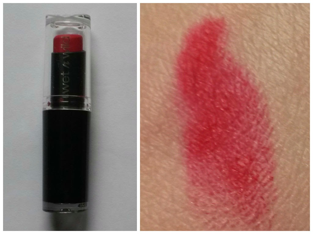 Cadeaux de Noël Megalast lip color wet n wild stoplight red