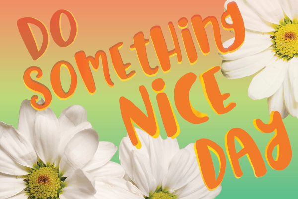 National Do Something Nice Day Wishes Images download