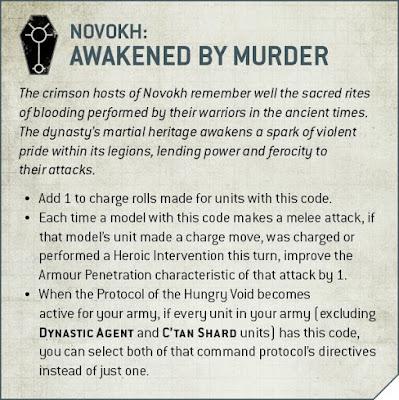 Dinastía Necrones Novokh