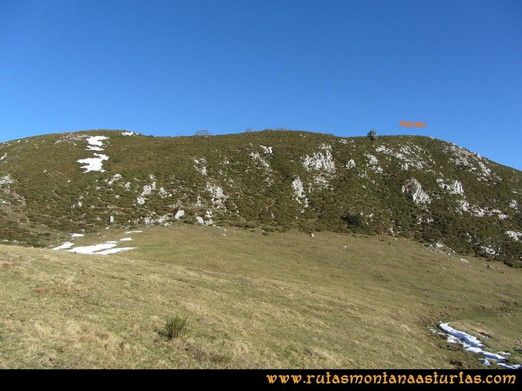 Pico Mosquito desde Tarna: Collado Paréu