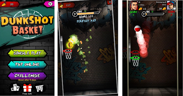 Game Basket Android Dunk Hit