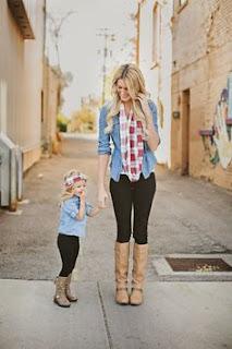 Baju Couple Cantik Ibu dan Anak 200011