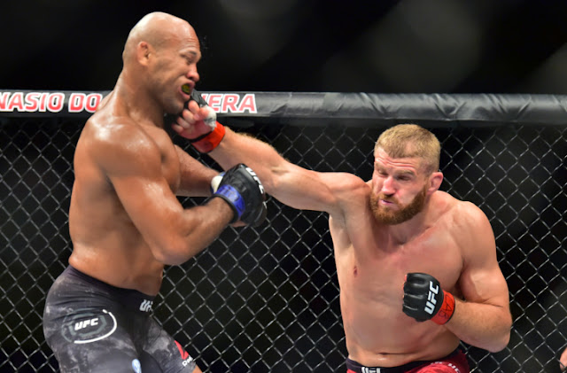 UFC Sao Paulo -  Jan Blachowicz defeats Ronaldo Souza