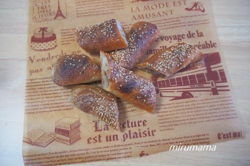 ごぼうとくるみのパン