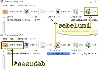 Cara Mengubah Format Video ke MP4, AVI, 3GP, WMV, MKV, MPG, VOB, MOV