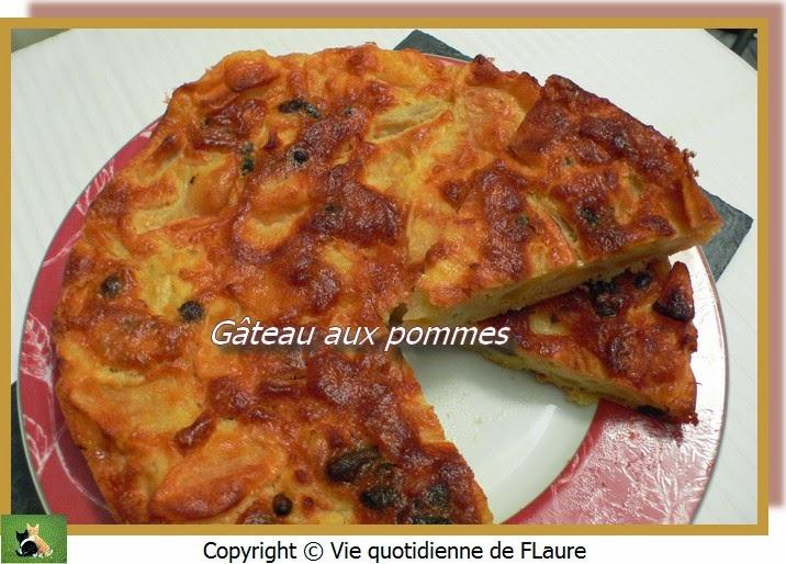 Vie quotidienne de FLaure: Gâteau aux pommes