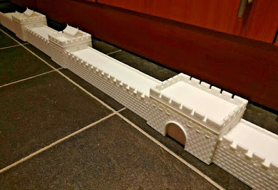 10mm Scale Ancient Great Wall of China picture 1