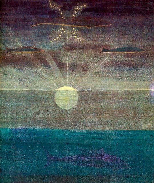 Чюрлёнис Микалоюс Константинас - Рыбы. 1907