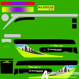 Livery Bus Puspa Jaya JB3+ SDD Facelift Busssid