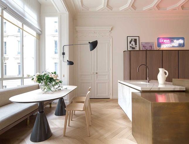 Inspiracje w moim mieszkaniu parkiet w jode k i inne drewniane pod ogi dekoracyjne - The house on the corner contemporary paris ...
