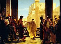 Pilato chiede alla folla chi scegliere