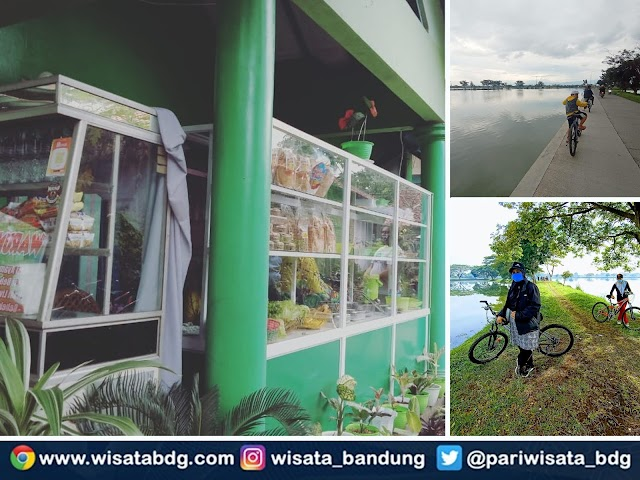 Warung Hejo Asri, Tempat Nongkrong Asyik di Jalur Sepeda Cikoneng Bojongsoang
