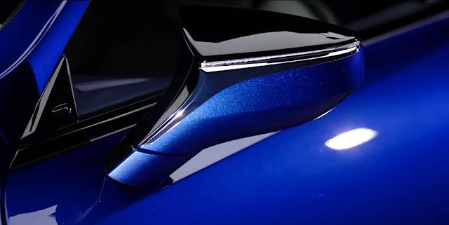 レクサスLC Structural Blue(ストラクチュラルブルー)