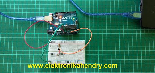 sensor cahaya ldr arduino