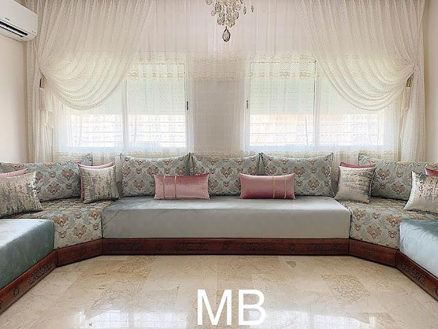 salon marocain moderne 2020