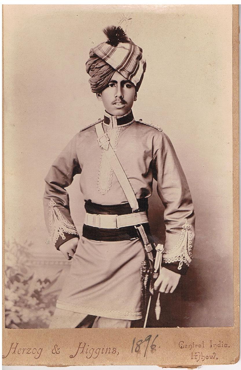Maharaja Ganga Singh Bikaner - 1896