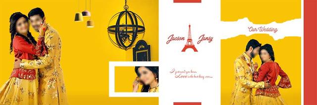 Indian Wedding Album Design 12x36 2021