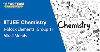 NEET Chemistry s-block Elements – Alkali Metals (Group 1)